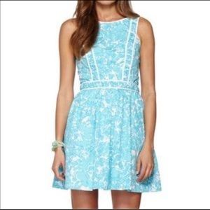 Lilly Pulitzer 8 Becky dress she's a fox Shorely